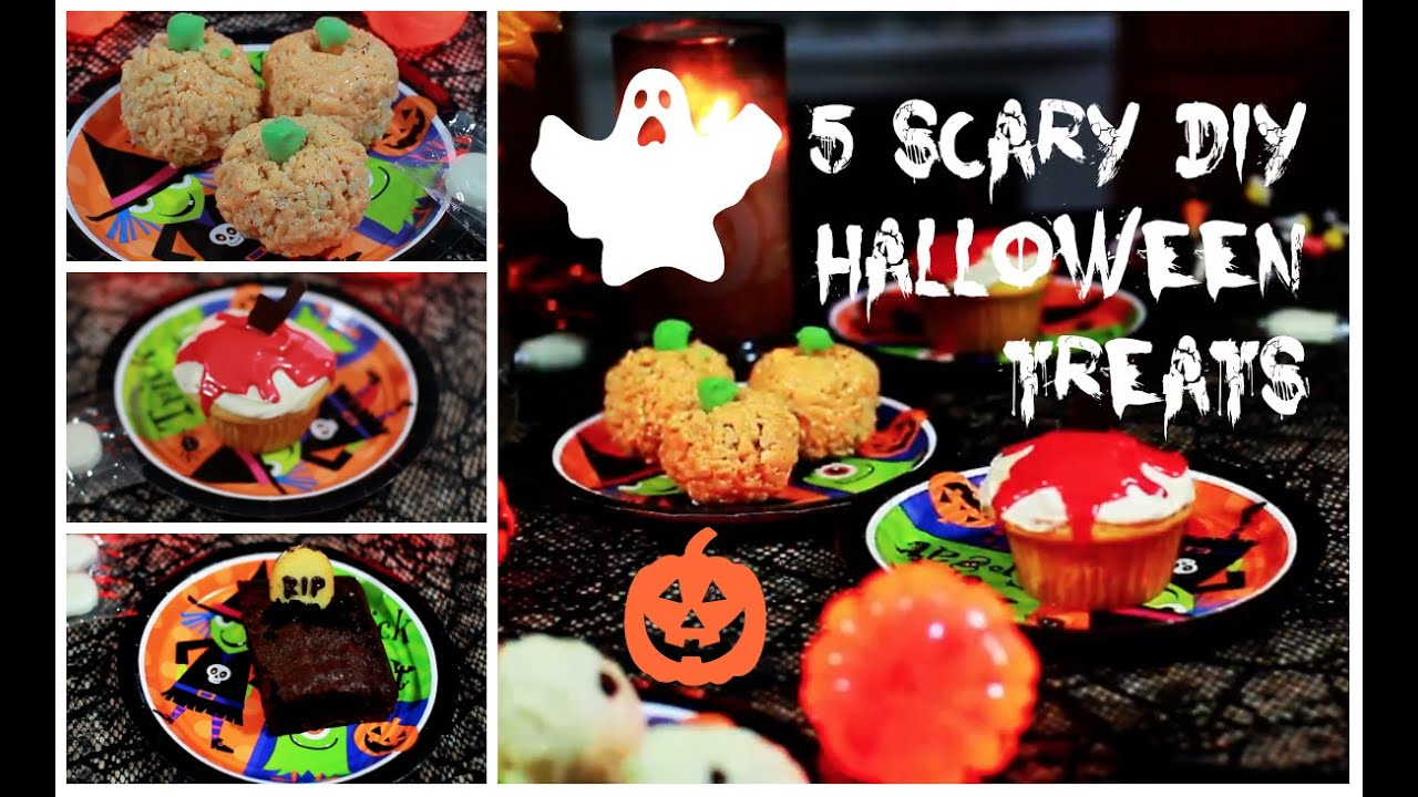 5 diy halloween treats super fast and easy perfect beauty - Fast And Easy Halloween Treats