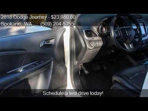 2018 Dodge Journey Crossroad AWD 4dr SUV for sale in Spokane