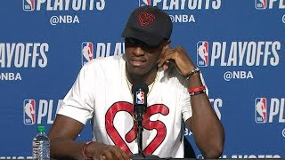 Pascal Siakam Postgame Interview - Game 1 | 76ers vs Raptors | 2019 NBA Playoffs