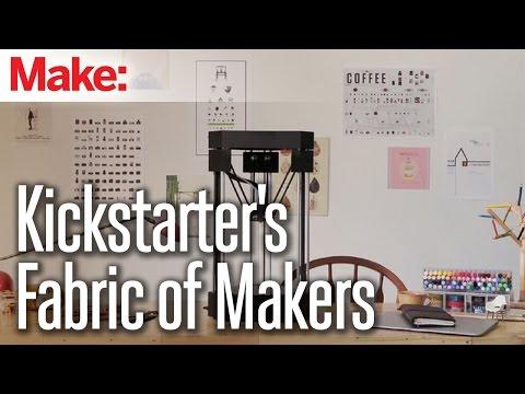 Kickstarter's Dense Fabric of Makers