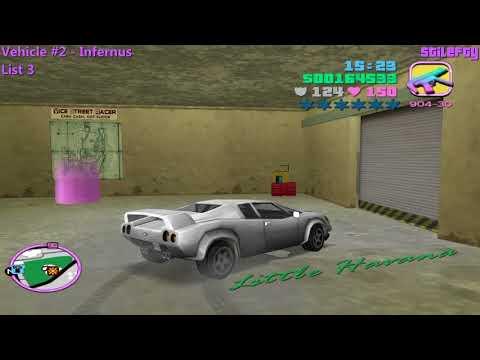 GTA Vice City - Sunshine Autos Import Garage (1080p) [List 3]