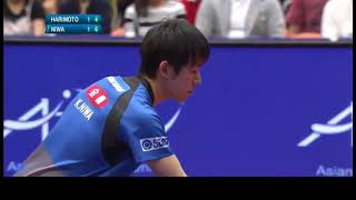Japan #1 #2 fights, Koki Niwa (WR#5) Harimoto(WR#6) 2018 Yokohama (highlights)