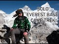 Solo Everest Base Camp Trek