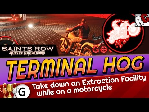 Saints Row: Gat Out of Hell - TERMINAL HOG Achievement / Trophy Guide - Extraction Facility