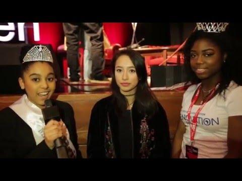 Miss Teen Africa interviews Ann Makosinski at TedxTeen London