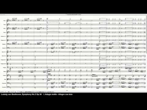 Beethoven Symphony No.2 Op.36 - Programed in Finale 2014 by pkmtKuma