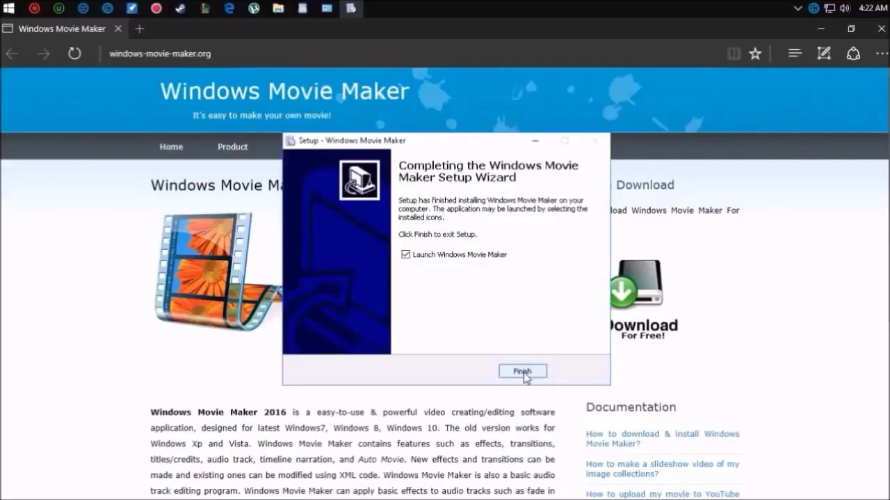Windows movie maker 10 download crack