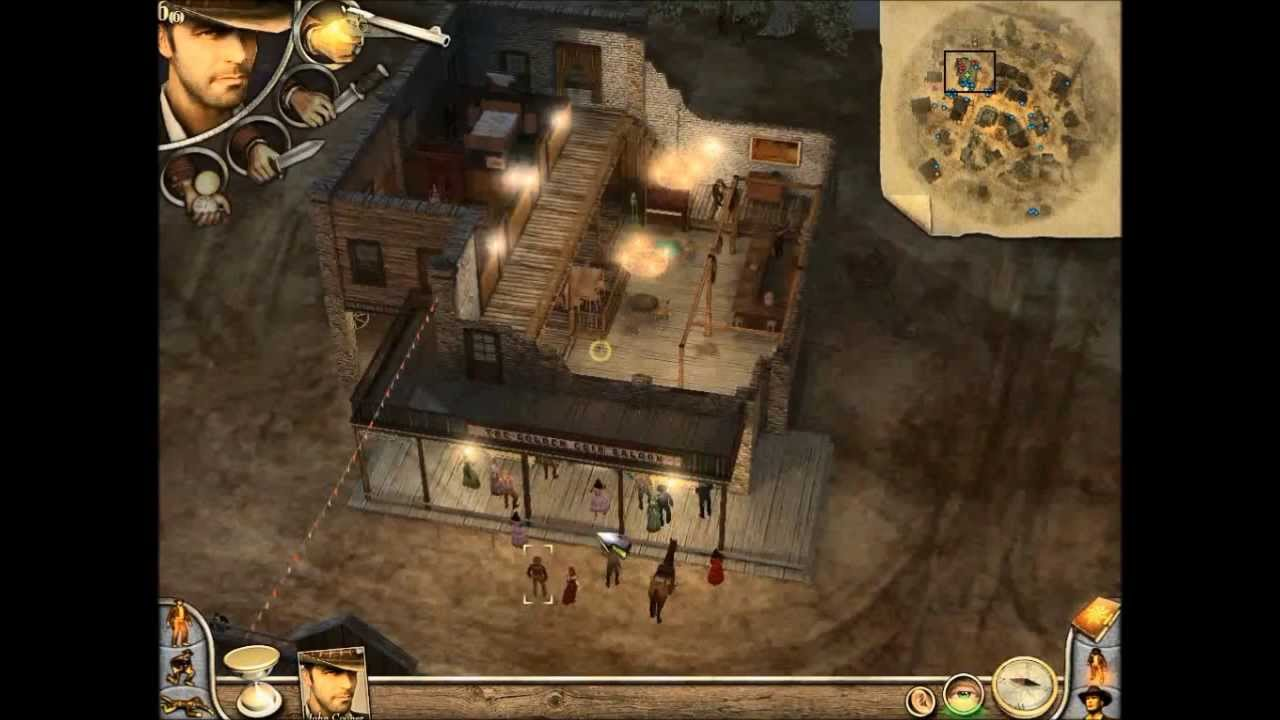 Let S Play Desperados 2 Cooper S Revenge Part 1 1 1 Blind New Adventure Youtube