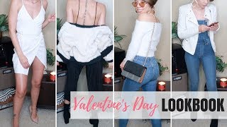 QUICK VALENTINE'S DAY LOOKBOOK | WHICH LOOK WOULD YOU WEAR?