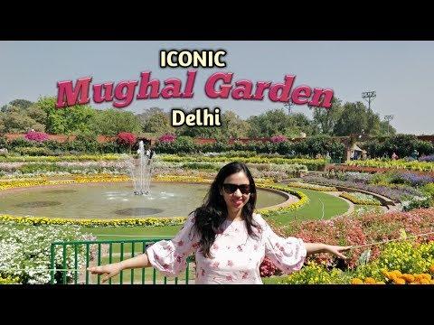 A Visit To The Iconic Mughal Garden | Rashtrapati Bhawan | Delhi | Arpita's Space