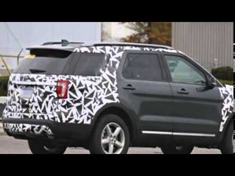 2017 Ford Explorer Redesign Release And Changes