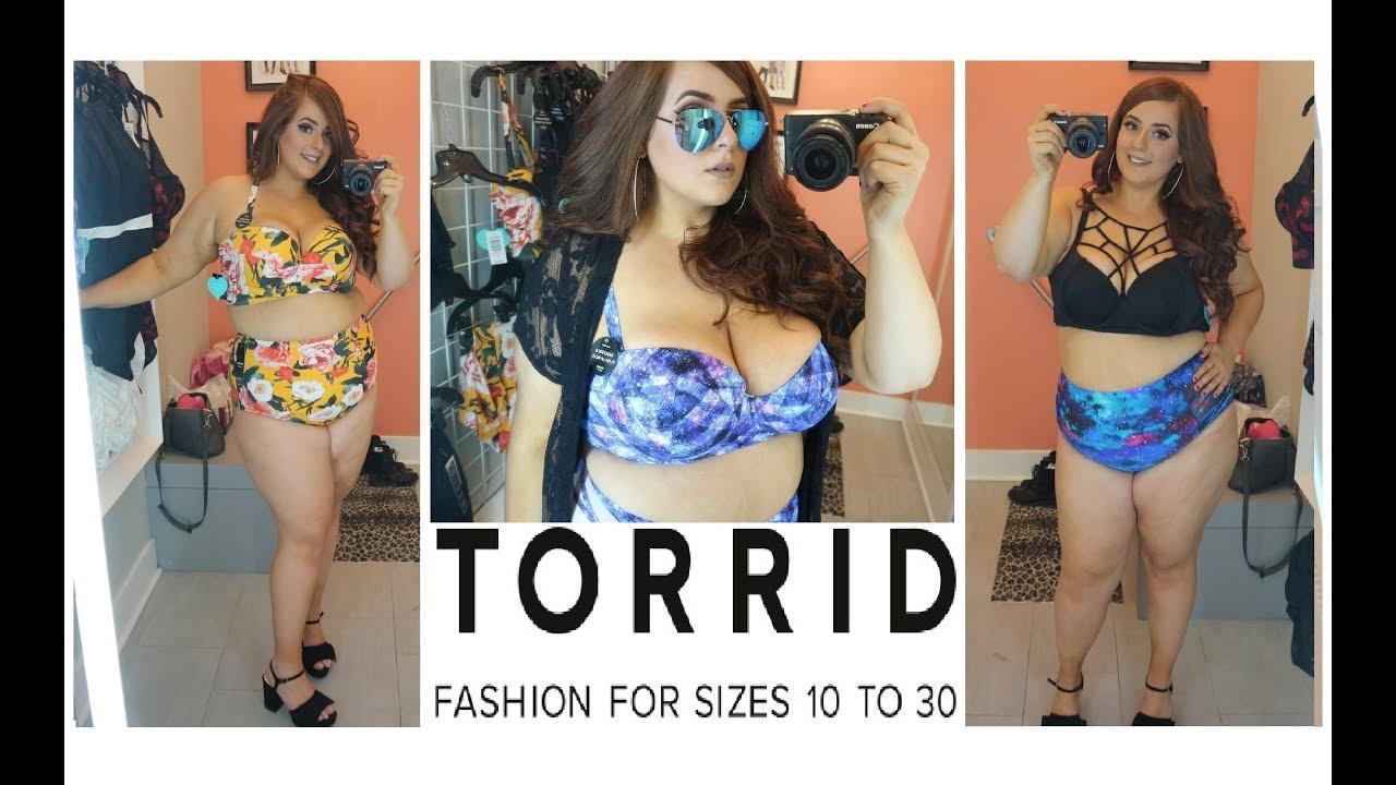 ce45397474a33 PLUS SIZE Torrid Swimwear Try On 👙