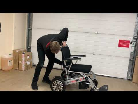 LITH-TECH SMART CHAIR X (how to demo)