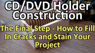 CD/DVD Holder - Steps 30 - 35