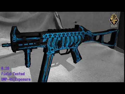UMP-45 Exposure - Skin Wear Preview