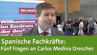 Spanische Fachkräfte: Fünf Fragen an Carlos Medina Drescher