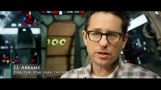 Star Wars The Force Awakens Exclusive: Behind The Scenes With JJ Abrams In Ireland