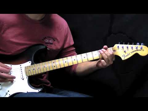 Stevie Ray Vaughan - Pride and Joy - Blues Guitar Cover