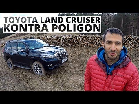 Toyota Land Cruiser - pełza, jeździ i lata po poligonie