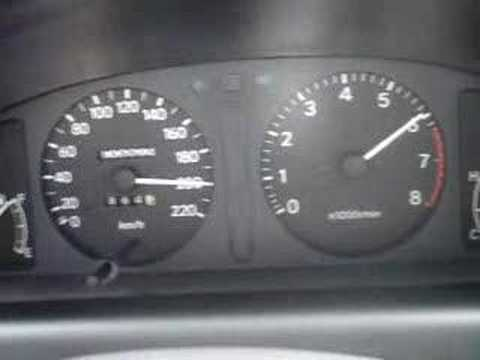 corolla 1.6 xl 2001 top speed 202 km/h - youtube