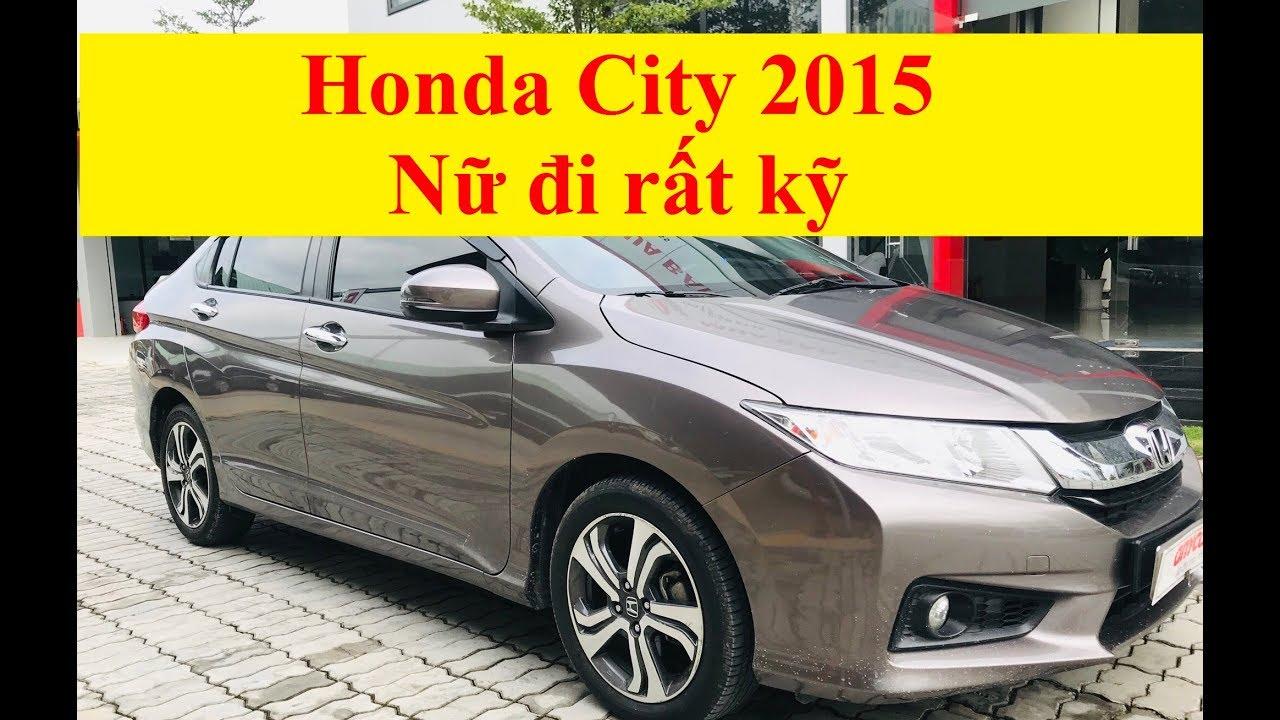 (ĐÃ BÁN) Honda City CVT 1.5AT 2015 Nữ Đi Giữ Gìn Rất Kỹ
