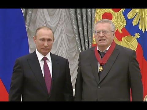 Жириновский о Путине в 2012 и в 2016. Путин глазами Жириновского UPD