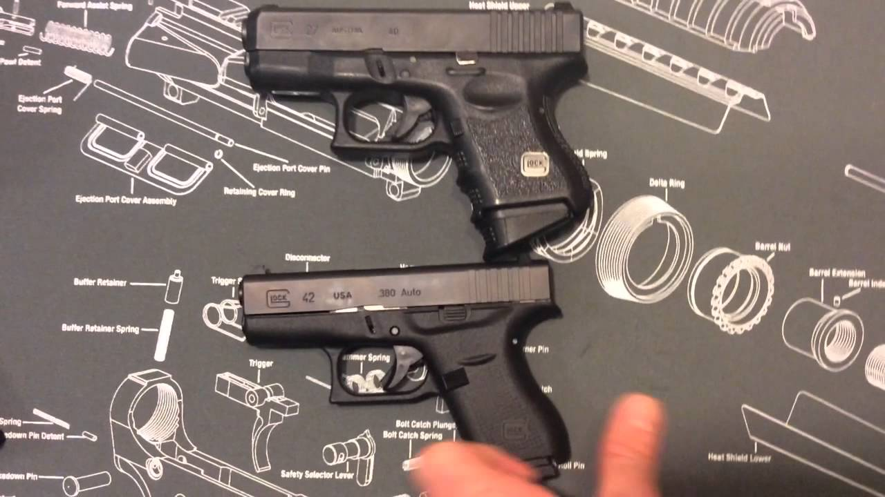 Glock 42 Comparison Between Ruger Lcp Lcr And Diamondback 380