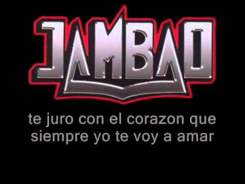 VIDEO: Jambao - jamas (letra)