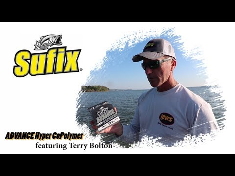 Professional Angler Terry Bolton Talks About The Sufix Advance Hyper CoPolymer Monofilament Line