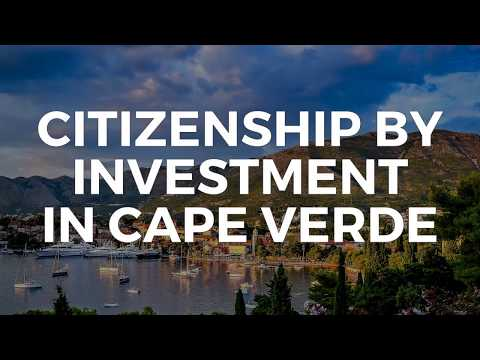 CITIZENSHIP BY INVESTMENT IN CAPE VERDE