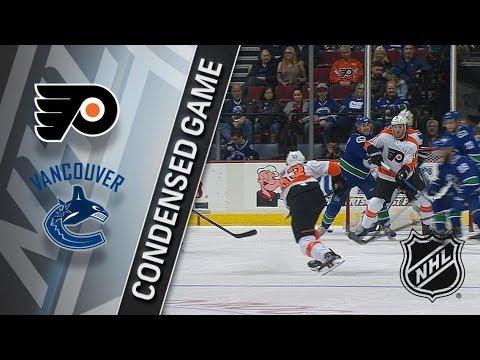Philadelphia Flyers vs Vancouver Canucks – Dec. 07, 2017 | Game Highlights | NHL 2017/18.Обзор матча