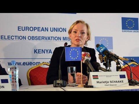 EU Parliament Plenary: Situation in Kenya-16.01.2018