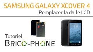 Tutoriel Samsung Galaxy XCover 4 : remplacer la dalle LCD