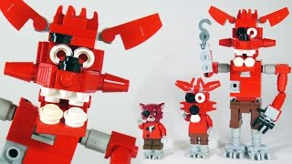 How To Build LEGO Foxy (Five Nights at Freddy's | FNAF)