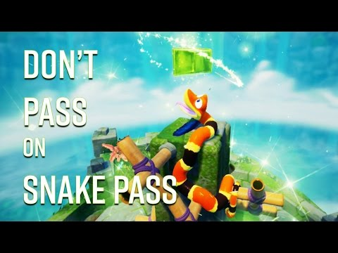 Snake Pass Impressions And Gameplay!