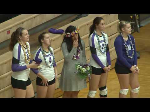 University of Portland Volleyball vs Gonzaga 11-21-16