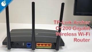 TP-Link Archer C1200 Dual Band Gigabit Wireless Wi Fi Router Unboxing and Setup [Hindi]