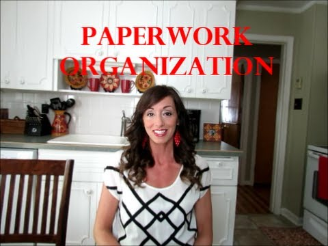 Paperwork Organization: Mail, Receipts, School Papers, Coupons