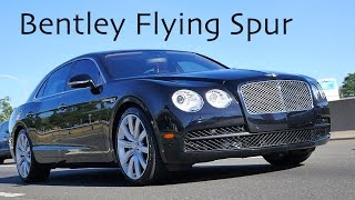 Bentley Flying Spur V8 2015 Videos