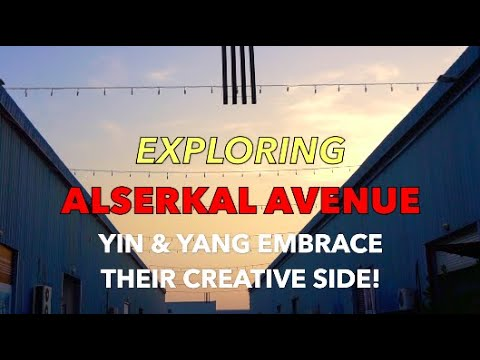 Exploring ALSERKAL AVENUE – Dubai's Creative Art Hub at Al Quoz Industrial District