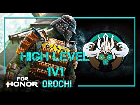 For Honor - 1V1 High level Orochi