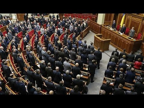 Ukrainian parliament votes to scrap controversial anti-protest laws