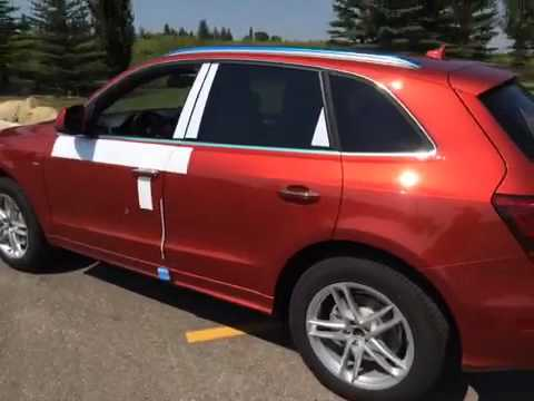 2015 Audi Q5 2.0 Volcano Red Metallic | Glenmore Audi - YouTube