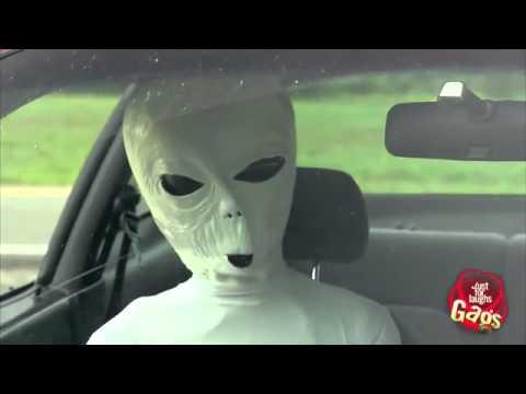 UFO prank
