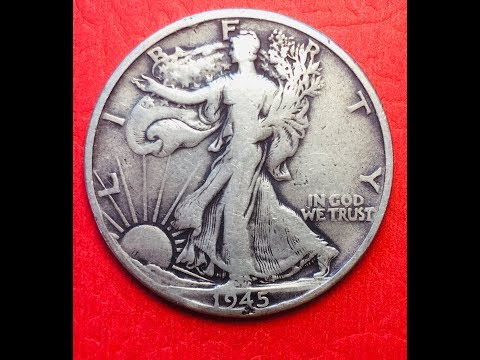 US 1945 Walking Liberty Half Dollar - United States