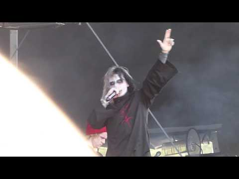 Ghostemane 1000 Rounds Pouya Cover Live Lollapalooza Music Festival August 1 2019 Chicago IL