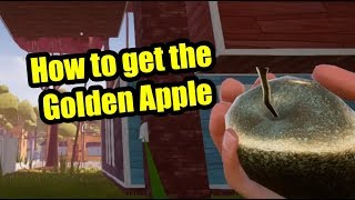 Hello Neighbor Full game - How to get the Golden Apple
