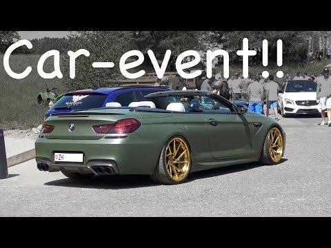 Car-event in Erlen Switzerland and a LaFerrari!