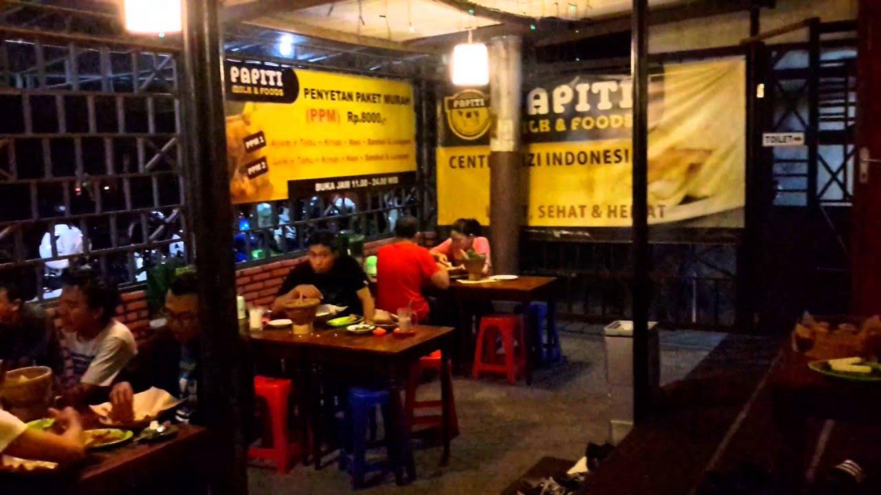 Wisata Kuliner Jogja Papiti Murah Enak Susu Murni Penyetan