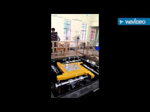 Tuned mass damper experiment at IIT kharagpur